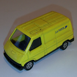 CORGI JUNIORS Renault Trafic in French LA POSTE Livery Diecast model car @SOLD@